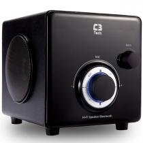 Caixa De Som Subwoofer 2.1 Bluetooth Preto Sp-330B C3 Tech -