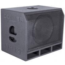 Caixa De Som Subwoofer Passivo 300W Preta Sb12p Ll Áudio - Ll Áudio