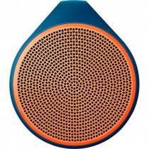 Caixa de som wireless bluetooth x100 laranja logitech - Logitech