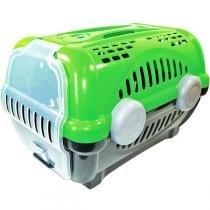 Caixa de Transporte Furacão Pet Luxo - Verde -