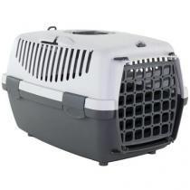 Caixa de Transporte para cães e gatos - Italiana - Tam 1 - Cinza - American pets