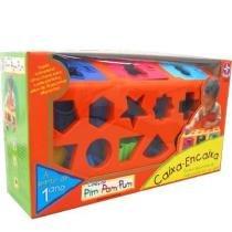 Caixa Encaixa Pim Pam Pum - Estrela - Estrela