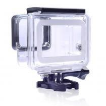 Caixa Estanque Fechada Telesin para GoPro Hero 5/6/7 Black Silver E White - Proaventura