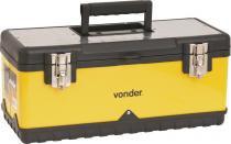 Caixa metálica para ferramentas baú 505x245x225mm com bandeja cmv0500 - Vonder -