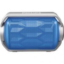 Caixa multimidia 2,8w wireless/bluetooth/microfone/prova dagua bt2200a/00 azul philips - Philips