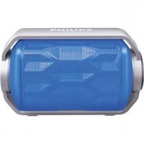 Caixa Multimídia 2,8W Wireless/Bluetooth/Microfone/Prova DÁgua BT2200A/00 Azul PHILIPS. -