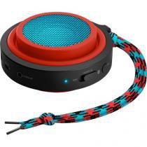 Caixa multimidia 2w wireless e bluetooth bt2000r/00 vermelho e azul philips - Philips