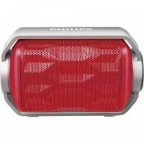 Caixa Multimídia Bluetooth Prova DÁgua BT2200R/00 Vermelha - Philips -