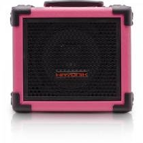 Caixa Multiuso 20W Bluetooth/USB/SD/FM IRON 80 Rosa HAYONIK -