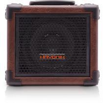 Caixa Multiuso 20W RMS Bluetooth USB/SD/Rádio FM Marrom Bivolt - Hayonik -