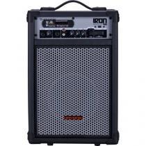 Caixa Multiuso IRON 400 60W RMS Bluetooth USB/SD e Radio FM Hayonik - HAYONIK