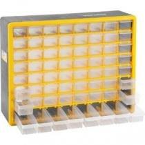 Caixa Organizador Plástico com 64 Gavetas OPV 310 Vonder -