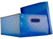 Caixa Organizadora Grande com Tampa DAC  - 664AZ Azul