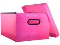 Caixa Organizadora Grande com Tampa DAC  - 664RS Rosa