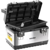 Caixa Para Ferramentas Tipo Maleta Baú Aço Inox Cbi-020 Vonder -