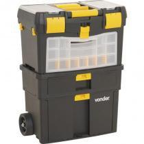 Caixa Plástica com Rodas 46 x 26 x 62 CM CRV 0100 VONDER -