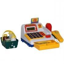 Caixa Registradora Infantil com Som e Luzes 9708 - Bel Brink - Belfix