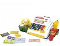 Caixa Registradora Infantil Unissex com sim e luz BelBrink - BelBrink