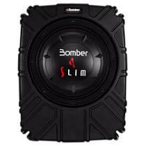 """Caixa Selada Slim Amplificada Bomber Subwoofer 10"""" 175w Rms - Bomber speaks"""