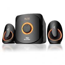Caixa Som 2.1 Bluetooth/USB/SD/FM/TV/PC Subwoofer Sumay SM-CS3313b -