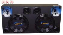 Caixa Som Automotivo Usina 1100 Wrms - Sub12+tweeter+driver - Spyder