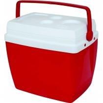 Caixa Térmica 34L Vermelha Mor -