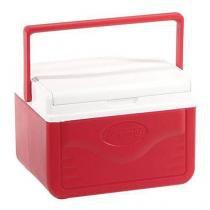 Caixa térmica 4,7 litros  vermelho - coleman - Vermelho -