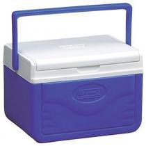 Caixa Térmica Coleman 5QT 4,7 Litros Take 6 Azul - Coleman
