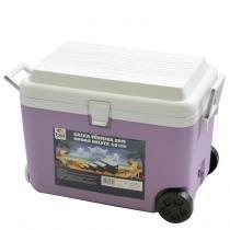 Caixa Térmica Cooler com Rodas 50 Litros Belfix 4350 - Belfix
