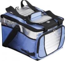 Caixa termica ice cooler 36l litros com 1 divisoria mochila termica quente e frio dobravel para prai - Mor