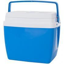 Caixa Térmica Mor 26L - com Alça Regulável Azul