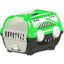 Caixa transporte luxo n.2 furacão pet  verde -