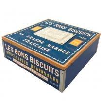 Caixa Vintage Biscuit Grande - Versare Anos Dourados