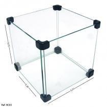 Caixinha de Vidro Modulado - 020 x 0,20 x 0,20 - Balcãonet