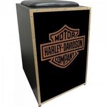 Cajon Acústico Inclinado Profissional K2 COR-007 Harley Davidson JAGUAR - b007e68240