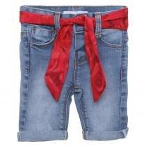 Calça Jeans Com Cinto - M - PITUCHINHUS