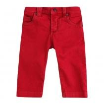Calça Masculino Sarja Vermelho - 1 - 1+1