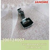 Calcador Janome para Franzir Tecidos Leves - Mec. - Janome
