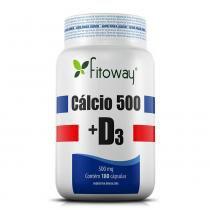 Calcio 500 + d3 fitoway 180 caps -