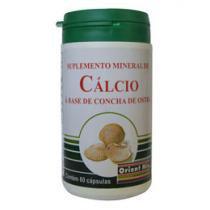 Cálcio à base de Concha de Ostras 60 Cápsulas - Orient Mix