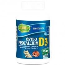 Cálcio, Magnésio e Vitamina D3 950mg Ósteo Procalcium 90 cápsulas Unilife -