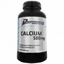 Calcium 500Mg - 100 Tabletes - Performance Nutrition -