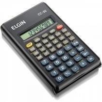 Calculadora Científica 10 Dígitos c/ 56 Funções, Tampa Protetora - CC56 - Elgin - Elgin