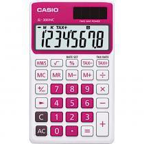 Calculadora com 8 Dígitos Casio SL-300NC Rosa - Casio
