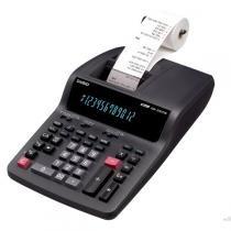 Calculadora com impressora 3,5 linhas / seg, 12 dígitos e bobina de 58 mm - DR-120TM-220 - Casio - Casio