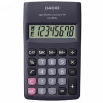 Calculadora De Bolso 8 Digitos Hl-815l-Bk-W-Dh Preta - Casio - 1
