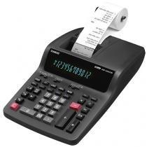 Calculadora de Mesa Casio com Bobina 12 Dígitos - DR-120TM Preta