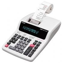 Calculadora de Mesa Casio com Bobina - DR-210TM-WE