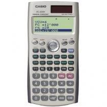 Calculadora Financeira Casio 12 Dígitos - FC-200V Dourada