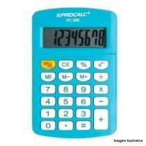 Calculadora Pessoal 8 Dígitos Azul PC986-BL - Procalc - Procalc